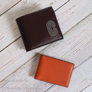 NWT Coach 3-in-1 Compact ID Wallet with Patch